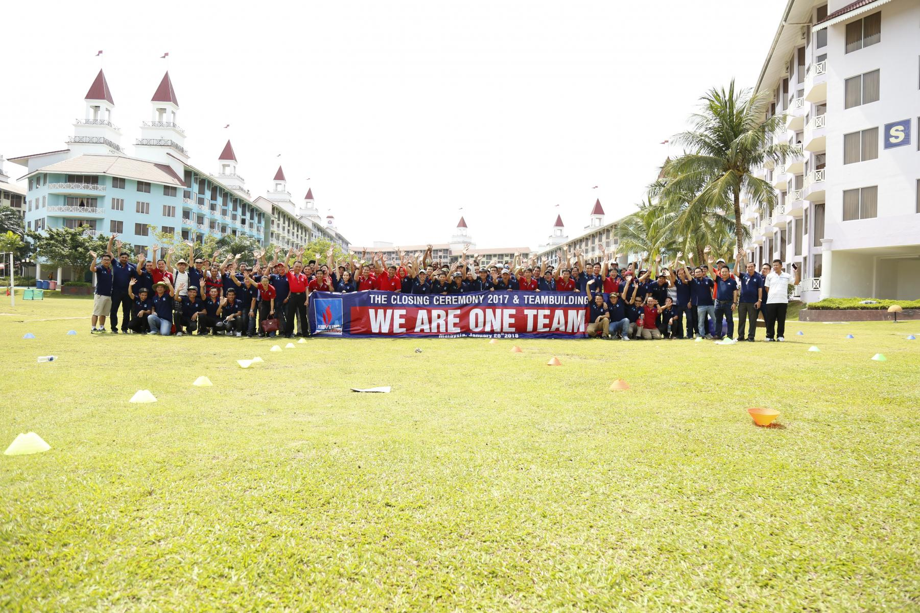 Team Building PVE Malaysia tháng 1/2018